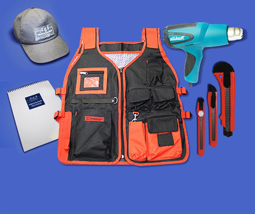 Комплектующие и инструменты для монтажа натяжного потолка