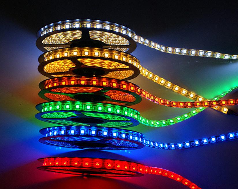 LED-лент для натяжных потолков разных цветов