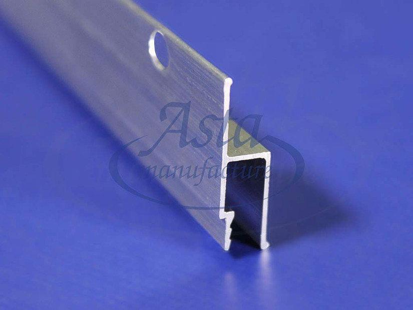 Алюминиевый профиль для монтажа ПВХ потолка гарпунным способом