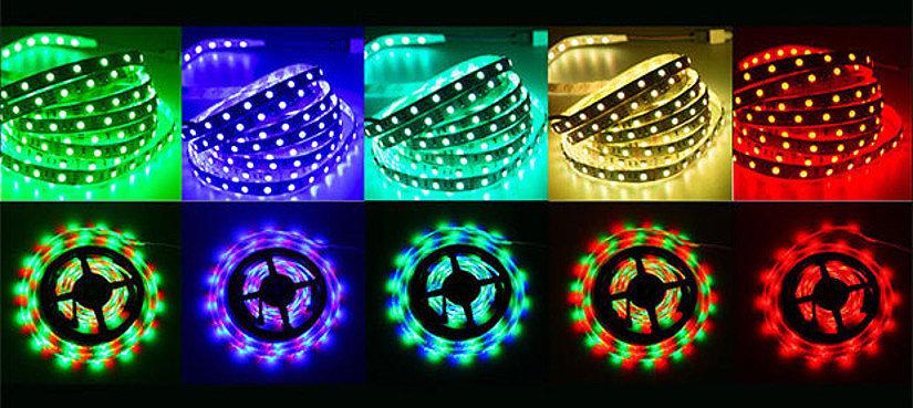 Цветные LED-ленты для натяжного потолка