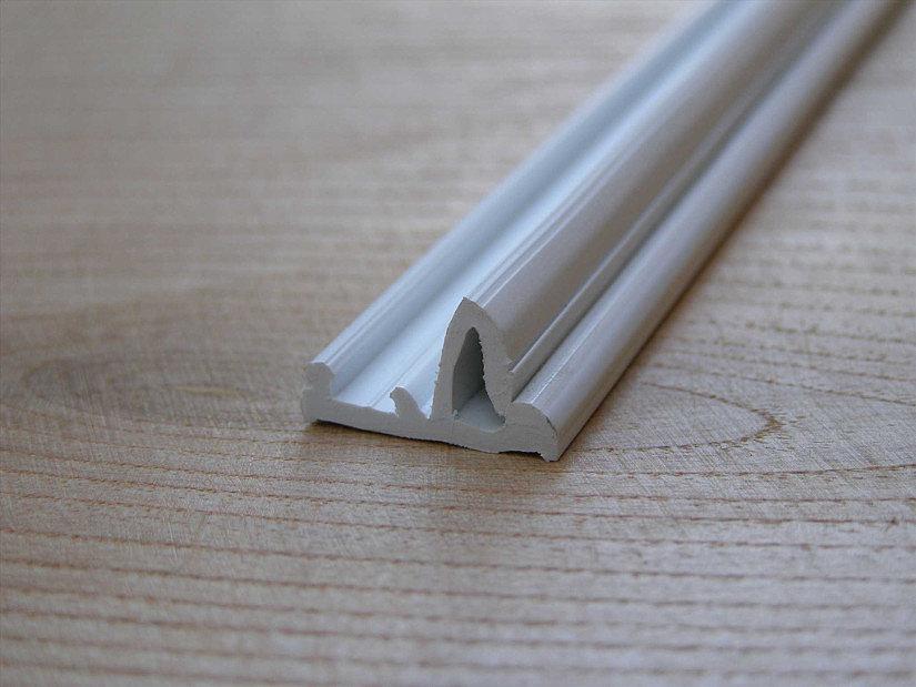 клипсовый профиль для тканевых потолков