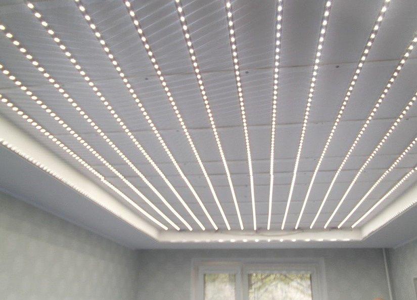 Запотолочная LED-подсветка для создания светящихся натяжных потолков
