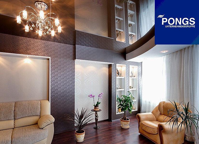 Pongs натяжные потолки