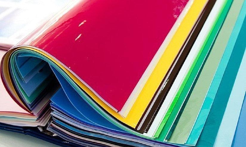 цвет и фактура натяжных потолков