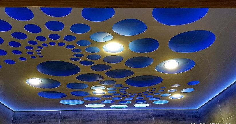 Резные потолки APPLY с подсветкой