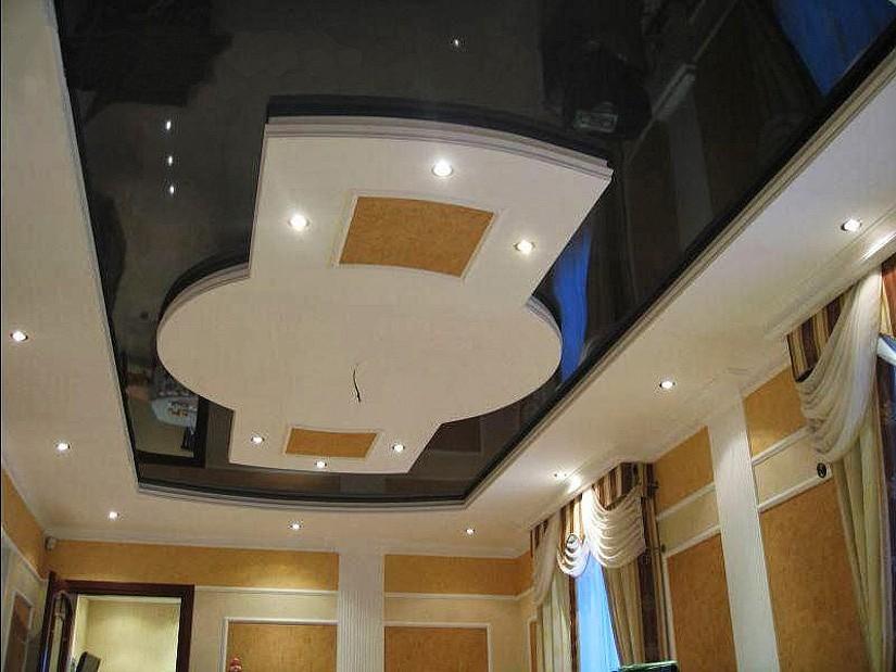 Натяжной ПВХ потолок в квартире