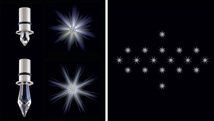 светорассеиватели - кристаллы Swarovski