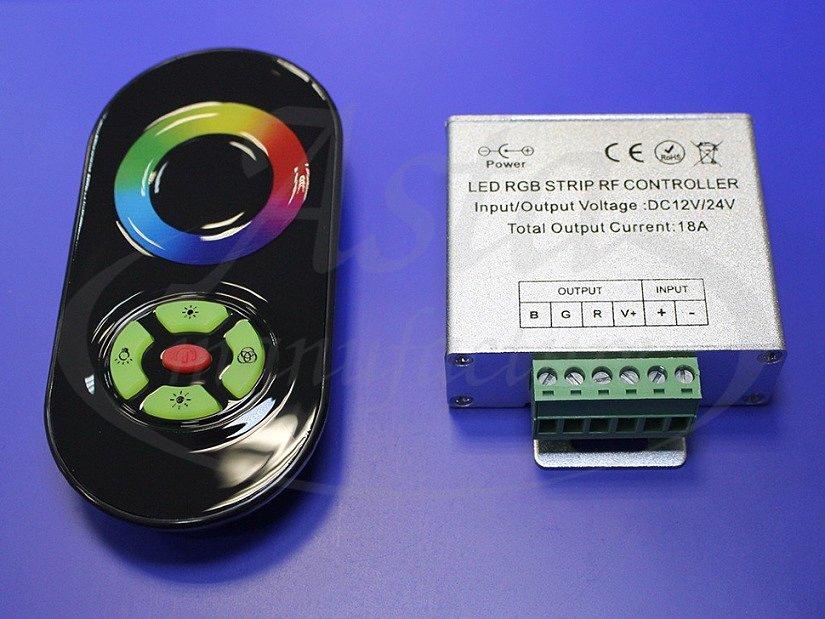 Контроллер RGB с сенсорным пультом управления