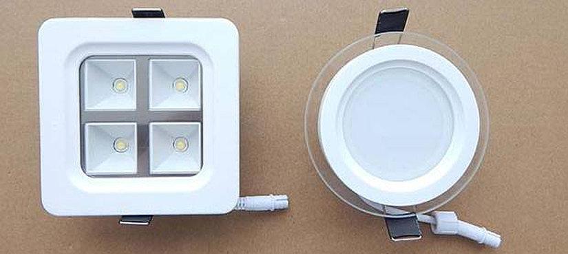 светодиодные светильники для натяжного потолка