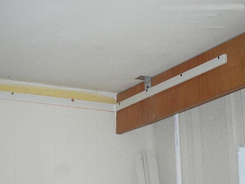 профиль для монтажа натяжного потолка