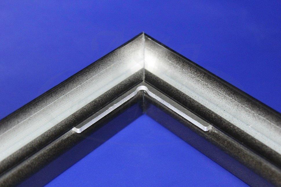 Профиль EuroKRAAB и стыковочная угловая пластина E-KRAAB