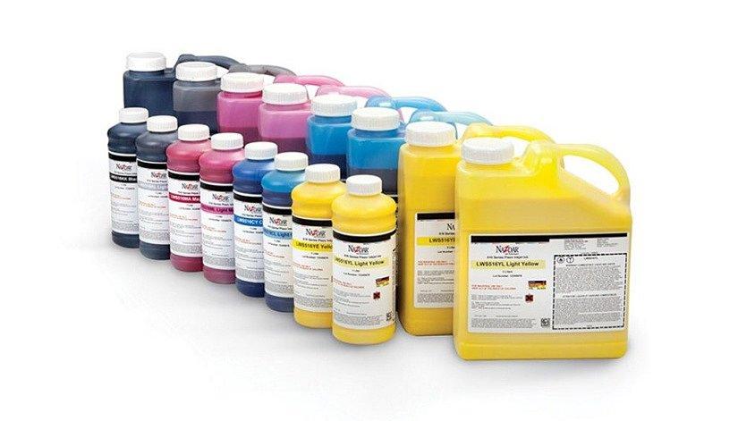 УФ-краска для нанесения рисунка на поверхность ПВХ потолка