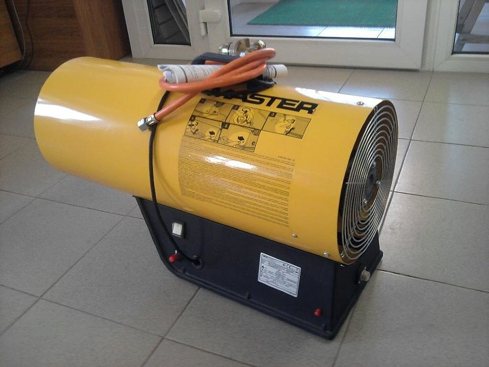 Газовая пушка для монтажа ПВХ потолков