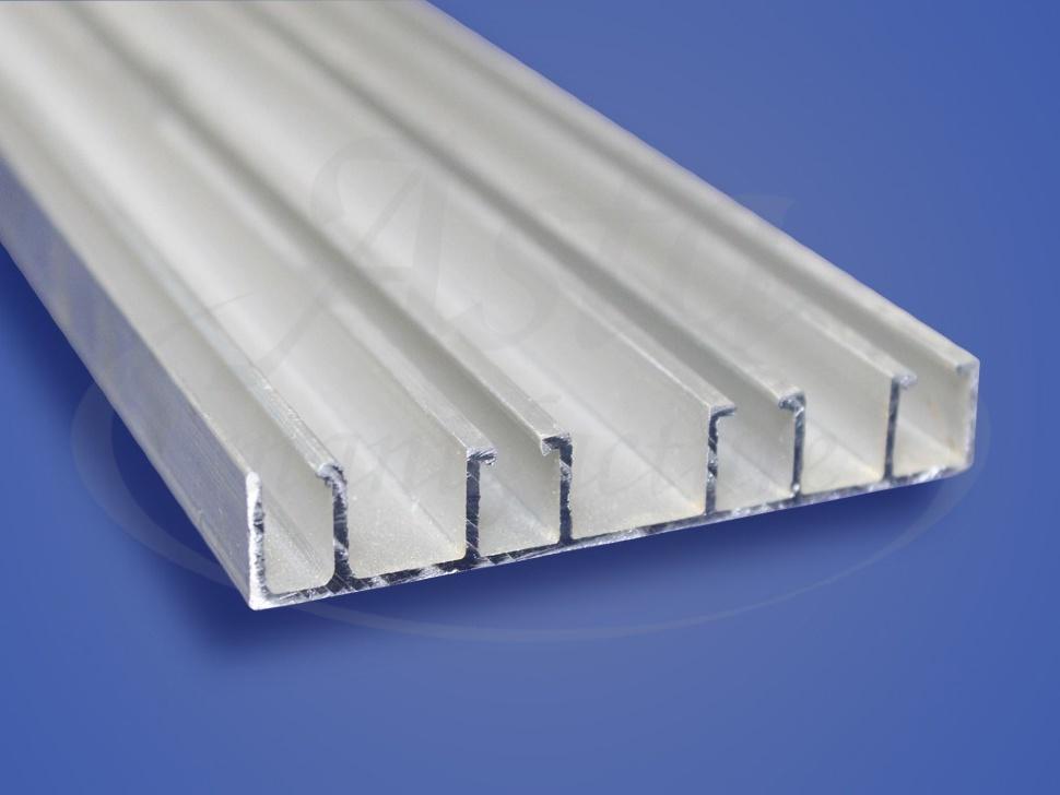 Алюминиевый потолочный карниз КП 4042
